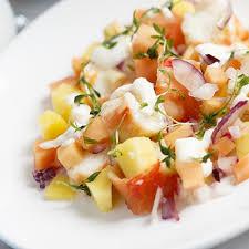 homard cuisine salade de homard à la mangue metro