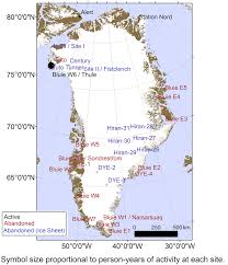 Map Of United States Military Bases by A Nuclear Powered Us Military Ice Base Will Resurface As The