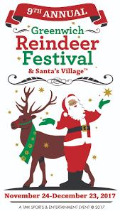 9th annual greenwich reindeer festival u0026 santa u0027s village