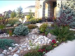 Xeriscape Landscaping Ideas Texas Xeriscape Landscaping Front Yard Rocky Landscape S J