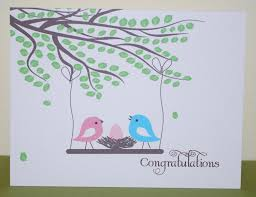 congrats on your new card new baby card personalized baby card