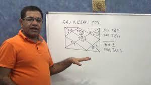 when gaj kesari yoga works english astrology youtube
