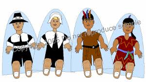 Thanksgiving Pilgrims And Indians Pilgrim And Indian Puppets Thanksgiving Craft
