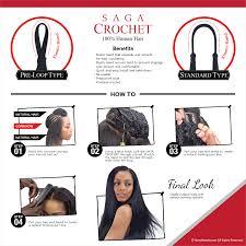 human hair for crocheting saga human hair crochet braids standard type super curl samsbeauty
