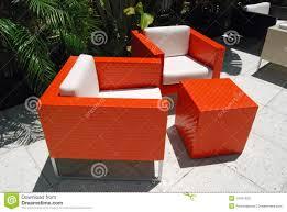 Orange Wicker Patio Furniture - orange patio furniture officialkod com