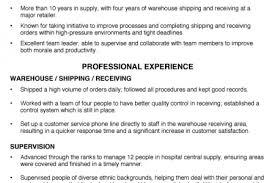 sample resume for shipping and receiving resume steve r jensen