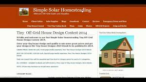 off grid house plans tiny off grid house design contest 2014 by lamar youtube