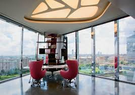 Modern Office Interiors In Different Styles Home Office - Modern office interior design