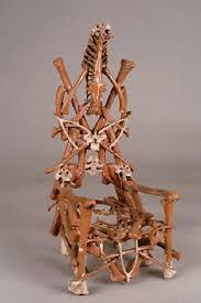 eugene von bruenchenhein bone chair outsider art naive and