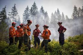 Wildfire Bc Jobs by B C Wildfires Dampened By Cool Weather Before Australian Help