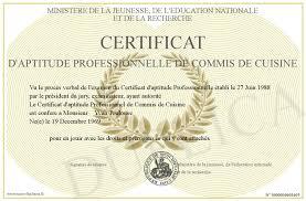 recherche commis de cuisine certificat d aptitude professionnelle de commis de cuisine