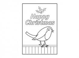 christmas card robin ichild