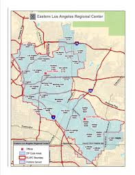 pasadena zip code map map of service area eastern los angeles regional center