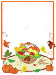 thanksgiving day frame royalty free cliparts vectors and