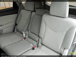 Toyota 60 40 Bench Seat 2012 2013 Toyota Prius V Rear 40 60 Split Bench Seat With 3