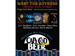 Cape Cod Brewery Hyannis - books by the sea and cape cod beer launch monthly local author