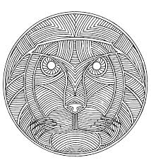 africa mandala africa coloring pages for adults justcolor
