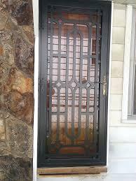 garage door window replacement parts security doors u2013 iron crafters llc