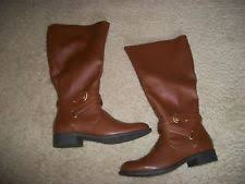 womens boots extended sizes bass womens f 16 equestrian boots cognac size 7 5 w