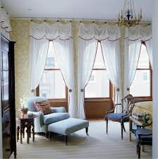 fancy bedroom curtains drapes in living room double window curtain
