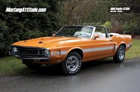 1969 mustang orange grabber orange 1969 ford mustang shelby gt 350 convertible aotm