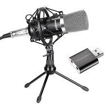microphone de bureau neewer nw 700 microphone à condensateur pour mac et windows