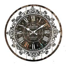 discount shabby chic large wall clocks 2017 shabby chic large