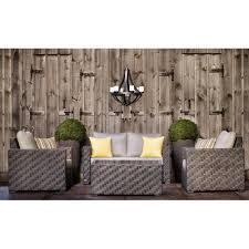 shop allen roth dorchester 4 piece conversation set at lowe u0027s