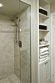 Bathroom Storage Ideas For Small Bathrooms by Tile Shower Ideas For Small Bathrooms Bathroom Midcentury With