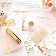 Chic Desk Accessories by Best 25 Gold Desk Accessories Ideas On Pinterest Gold Office