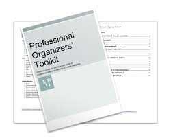 forms for professional organizers geralin thomas training