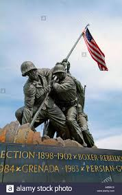 Flag Corps The Marine Corps Statue Of Raising The Flag At Iwo Jima During