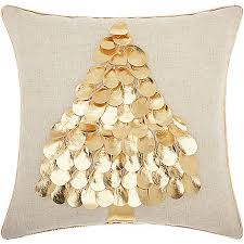 mina victory home for the metallic tree decorative pillow