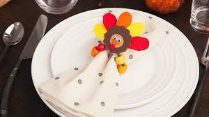 thanksgiving craft for kids these adorable turkey napkin rings