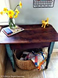how to refinish a wood table refinishing furniture with coconut oil 2 little supeheroes2 little