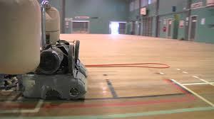Lagler Hummel Floor Sander by Floorcoat Nz Floor Sanding Gym U0027s Promo Youtube