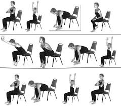 Office Exercises At Your Desk Office Chair Simple Exercises To Do At Your Desk And