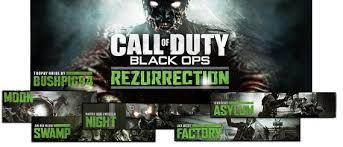 rezurrection map pack call of duty black ops rezurrection dlc trophy guide ps3