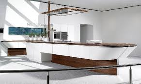 interesting kitchen islands a boat shaped kitchen island a unique project of a kitchen