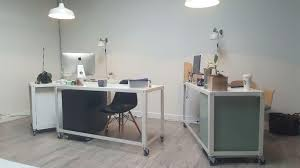 interior office painting cue talent agency vancouver bc eb