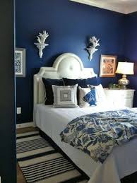 Navy  Dark Blue Bedroom Design Ideas  Pictures Dark Blue - Blue and black bedroom designs