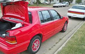 Dodge Spirit Plymouth Acclaim Chrysler 1991 Dodge Spirit R T Sedan Classicregister