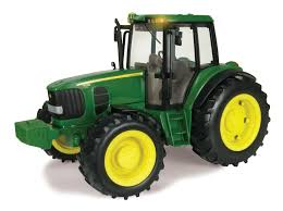 amazon com ertl big farm 1 16 john deere tractor with lights