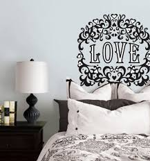 valentine days cool home wall decals for valentine decors holiday large size of black white vinyl valentine wall decals floral damask and love quote heart temporary