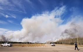 Wildfire Firefighter Jobs Alberta by Canada Fire U0027out Of Control U0027 Wildfire In Alberta Canada Doubles