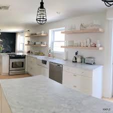 custom doors for ikea cabinets semihandmade semihandmade maple floating shelf