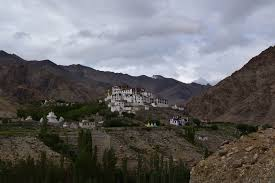 great surprise to see our road less travelled likir a quintessential village in the himalayas