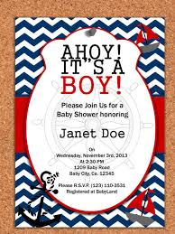 nautical baby shower invitations nautical baby shower invitations templates marialonghi