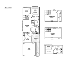 the raleigh courtyard cottage floor plans goodall homes