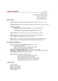 German Resume Sample by Academic Resume Sample High Best Resume Collection